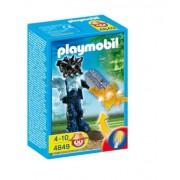Playmobil - 4849 - Jeu de construction - Gardien du temple avec arme lumineuse orange