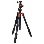 Rollei Fotopro C5i stand cu cap bilă + geantă căptușită (portocaliu)