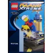 LEGO 6731 Island Xtreme Stunts - Doble de escenas de acción con monopatín