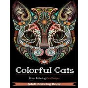 Colorful Cats by Coloring Books Adult