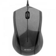 Мишка Жична V-Track PADLESS мишка N-400-1, сива-гланцирана повърхност ,3бут; USB - A4-MOUSE-N-400-1
