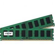 Crucial 8GB Kit (4GBx2) DDR3L 1600 MT/s (PC3L-12800) Unbuffered UDIMM High Density Memory CT2K51264BD160BJ