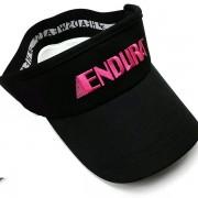 ENDURA VISOR Head Sweats Black cap hat headsweats