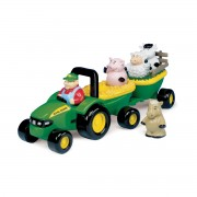 John Deere Animal Sounds Hay Ride - Green - 34908A