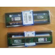 Kingston ValueRAM - DDR3 - 2 Go - DIMM 240 broches - 1066 MHz / PC3-8500 - CL7 - 1.5 V - mémoire sans tampon - non ECC