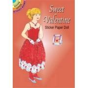 Sweet Valentine Sticker Pap Doll by Barbara Steadman