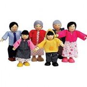 Hape - Happy Family - Asian Doll House Set