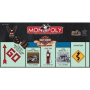 Harley-Davidson Live to Ride Collector's Edition Monopoly Board Game by USAopoly