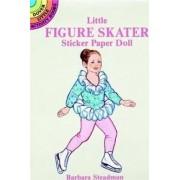 Little Figure Skater Sticker Paper Doll by Barbara Steadman