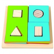 Skillofun Exploring Square Fractions and Shape Sorter
