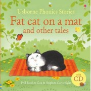 Phonics Stories: Fat Cat on a Mat and Other Tales with CD by Phil Roxbee Cox