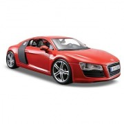 Maisto 1:24 Scale Red Audi R8 Diecast Vehicle