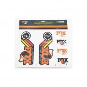 Fox Racing Shox Fork and Shock Decal Kit Media pomarańczowy Media