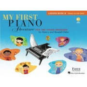 My First Piano Adventure, Lesson Book B: Steps on the Staff: For the Young Beginner [With CD (Audio)]