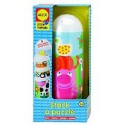 ALEX Toys Little Hands Stack A Puzzle Farm
