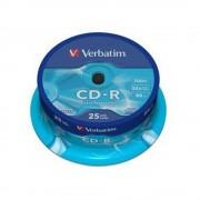 CD-R 25 buc./cutie VERBATIM Extra Protection