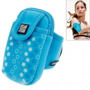 Fashionable Arm Band Case for iPhone 5 & 5C & 5S / iPhone 4 & 4S(Blue)