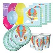 Party Savvy BFE-301-928 Hot Air Balloon Basic Party pack