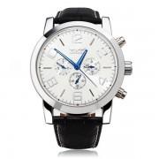 Jaragar elegáns normál méretű automata óra - fehér