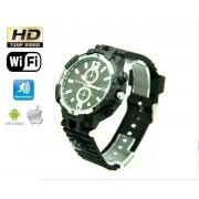 Elegantné hodinky s WiFi HD kamerou + IR LED + 8GB pamäť
