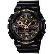 Ceas barbatesc Casio GA-100CF-1A9ER G-SCHOCK Cronograf 20 ATM 51 mm