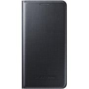 Husa Samsung Flip Cover EF-FG850BBEGWW pentru Galaxy Alpha (Neagra)