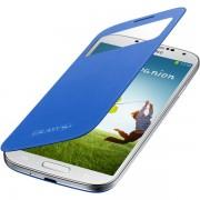 Husa tip S-View Samsung pentru Galaxy S4 i9500, i9505, EF-CI950BCEGWW - Light Blue