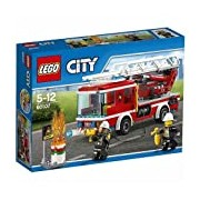 LEGO 60107 City Fire Fire Ladder Truck - Multi-Coloured