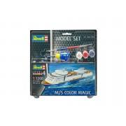Revell Model Set M/S Color Magic 1:1200 hajó makett 65818