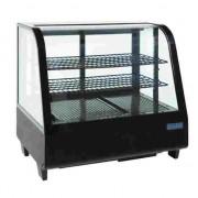 Expositor refrigerado vertical Polar negro sobre mostrador 100 litros Polar CC611