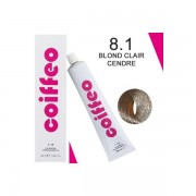 Coiffeo coloration hair color 8.1 - Blond clair cendré
