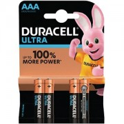 Duracell Ultra Power AAA pack of 4 (MX2400B4)