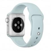 Curea pentru Apple Watch 42 mm Silicon iUni Turquoise