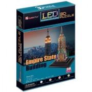 Frank Puzzles LED Architecture - Empire State Building 3D - 38 Pieces