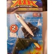 Air Force 2 Pack Die-cast Metal Airplanes ~ B-2 Stealth Bomber & SR-71
