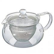 Hario Green Tea All Glass Tea Pot Japanese Cha Cha Kyusu Maru 450ml (japan import)