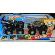 MONSTER JAM REV TREDZ BATMAN VS MAXIMUM DESTRUCTION 2 PACK PLAY SET by Hot Wheels