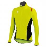 Sportful Fiandre Light No Rain Jersey - Yellow Fluo/Black - M