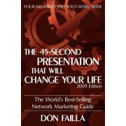 The 45 Second Presentation That Will Change Your Life by Don Failla