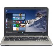 "Laptop Asus VivoBook MAX A541NA-GO180T, 15.6"" HD LED, Intel Celeron Dual Core N3350, RAM 4GB, HDD 500GB, Windows 10 Home, Chocolate Black"