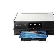 Multifunctional Inkjet Color Canon PIXMA TS9050 White