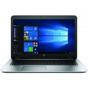 Laptop HP ProBook 470 G4 17.3 inch Full HD Intel Core i7-7500U 8GB DDR4 256GB SSD nVidia GeForce 930MX 2GB FPR Windows 10 Pro Silver