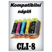 Handsome - Náplň do tiskárny Canon CLI-8Bk - photo black (13ml) s čipem (komp.)