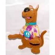9 Scooby Doo Tie Dye Peace Plush