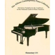 The Allison Contemporary Piano Collection by Guild Of Piano Teachers National