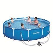 Piscina cu cadru metalic 366x76 cm
