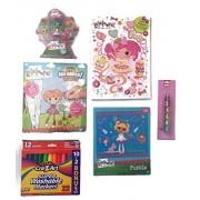 Lalaloopsy Girl/Boy/Child Play Bundle: Haley Galaxy Mini Doll and Pets