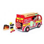 Le Toy Van - 12427 - Jouet Premier Age - Set Véhicule de Pompiers