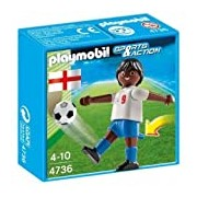 Playmobil 4736 Sports and Action Soccer Player from England - English Black