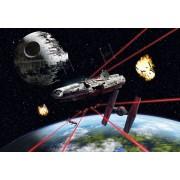 Star Wars Papier Peint Millennium Falcon 368 X 254 Cm